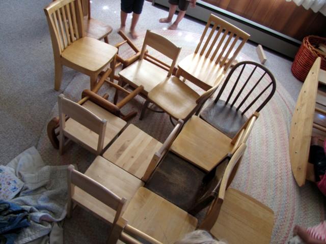 Webofchairs