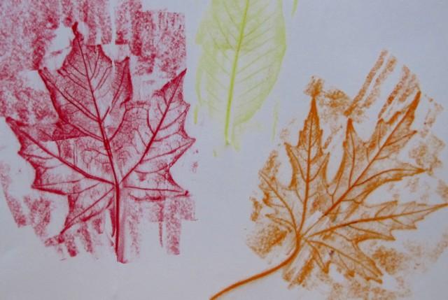 Leafrubbings