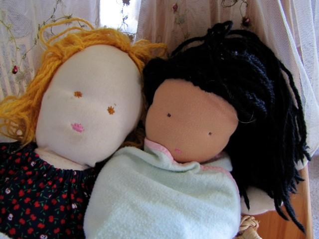 Our dolls are in need a a good clean and repair