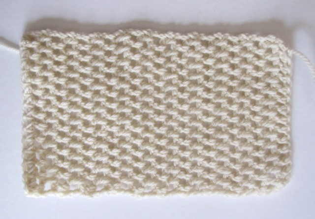 Crocheted block