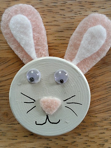 One bunny