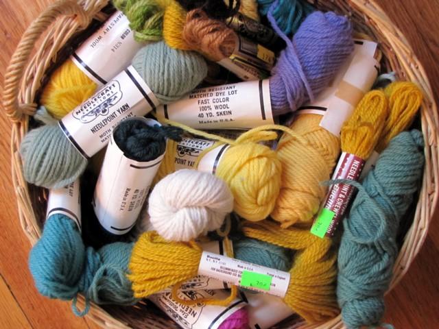 Thrift yarn