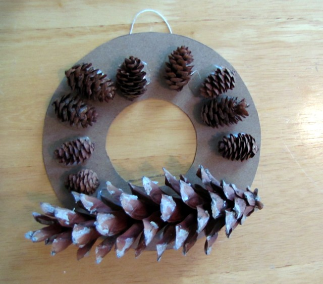 One wreath