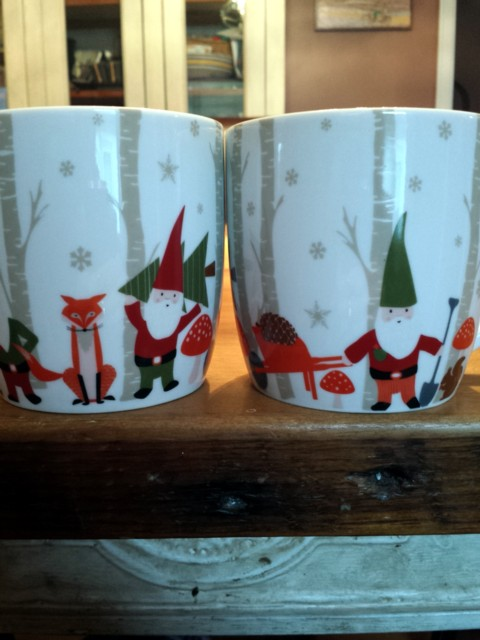 New holiday mugs