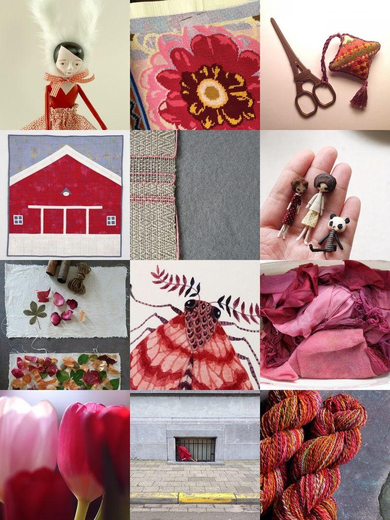 Crimson inspirations