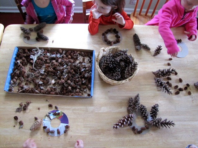 Pinecone play